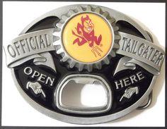 #ASU bottle opening belt buckle!