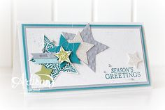 Stampin' Cards And Memories: Stampin' UP! Big Shot en Bundel Actie, Bright and Beautiful, Stars Framelits, Gorgeous Grunge, Christmas