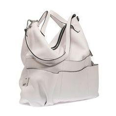 MARNI White Shoulder Bag ($1,835) ❤ liked on Polyvore