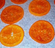 fette di aracia caramellate al forno Sweet Corner, Biscotti, Orange Slices, Chutney, Love Food, Cooking Recipes, Sweets, Baking, Root Cellar