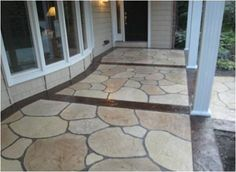 Flagstone Decorative Concrete Overlay - Cleveland OH