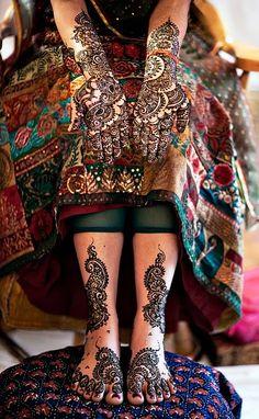 Beautiful Bridal Henna