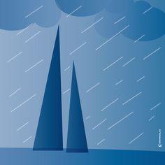 Che succede quando piove? Me lo chiedevo spesso quando ero bambino. No, non mi interessava sapere perché piove; quello me lo spiegava la maestra di scienze: il sole che scalda,l'acqua che evapora,…