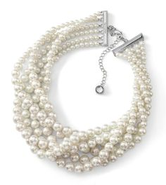 Pearls, like the Uptown necklace, makes a classic statement.
