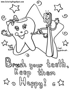 69 Best Dental Coloring Pages Images Dental Health Oral Health Teeth