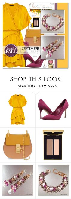 """Lexi Butler Designs 1"" by anyasdesigns ❤ liked on Polyvore featuring Marissa Webb, Sergio Rossi and Chloé"