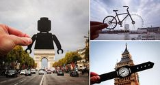 British photographer Rich McCor uses paper silhouettes to playfully transform famous European landmarks into something else entirely. So the London Eye becomes the front wheel of a bicycle, the Arc de Triomphe becomes the lower body of a Lego man and the Big Ben becomes a wrist watch. Check it out below. 1. Big Ben, London […]
