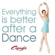 Everything is better after Dance