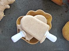 Simply Healthy Family: Ginger-Pear Popsicles