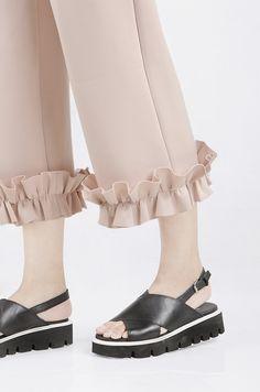 Long Pants Beige Ushi   COTTONINK