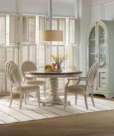 Sunset Point, Sunset Point Round/Oval Pedestal Dining Room Set, Dining Room  Table Sets, Bedroom Furniture, Curio Cabinets And Solid Wood Furniture    Model ...
