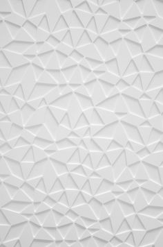 The texture on this is the most important part of design. There is no color to create pattern so it's up to the texture to create that feel. Pattern Dots, Doodle Pattern, Pattern Texture, 3d Texture, White Texture, Texture Design, Pattern Design, Triangle Pattern, Textile Patterns