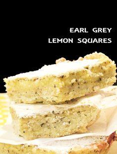 earl grey lemon squares