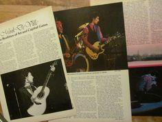 Mink De Ville, Three Page Vintage Clipping, Deville 1970s Music, Vintage Clip, Mink, Third, Ebay