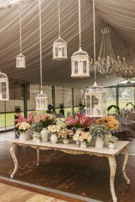 Romantic Garden Wedding at the James Terrara House