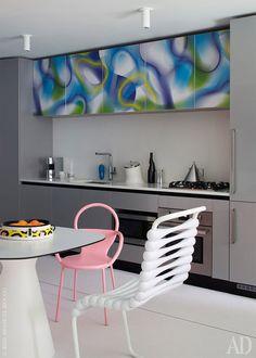 Интерьеры: Карим Рашид показал свою квартиру в Нью-Йорке | AD Magazine