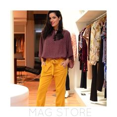 Bom dia segundona! E a #MagStore está repleta de novidades! Esse look lindo da @blogdamariah é todo #Mixed ! #maglovers #socool #sochic by magstore_ata