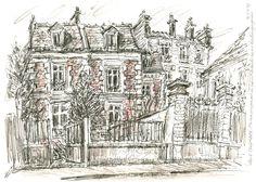 Bois Colombes - Rue Des Bourguignons - Yann Le Houelleur