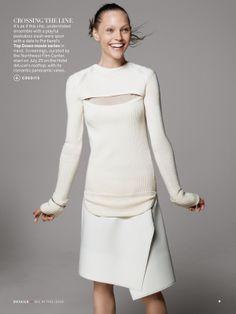 a sporting chance: sasha pivovarova by david sims for us vogue july 2013   visual optimism; fashion editorials, shows, campaigns & more!