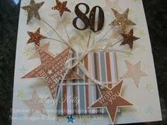 Gorgeous cards and memory keeping using Stampin' Up products. 60th Birthday Cards For Ladies, Special Birthday Cards, 80th Birthday, Handmade Birthday Cards, Happy Birthday Cards, Homemade Greeting Cards, Greeting Cards Handmade, Karten Diy, Masculine Birthday Cards