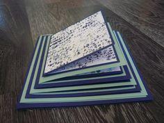 On le voit beaucoup sur le net cet album pyramide. Merci à Danyscrap d'avoir fait un tuto. Je l'ai réalisé avec les nouveaux papiers que vous découvrirez dans le nouveau catalogue Stampin Up : papier Textures apaisantes et comme toujours l'idéal pour...