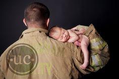 firefighter newborn