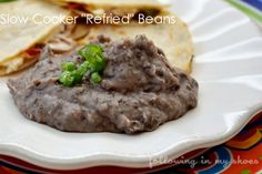 Slow Cooker Refried Beans from @Rachel Lacy