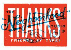 """""""THANKS"""" By Neighborhood Studio"""