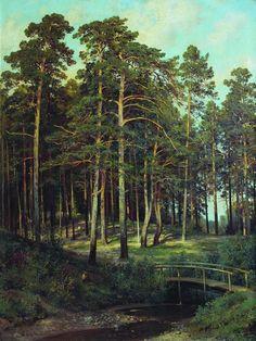 Мостик в лесу 1895 108х81