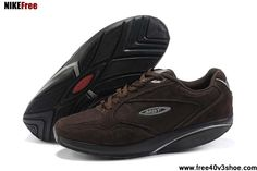 Latest Listing Men MBT Sini Shoes Coffee Shoes Store