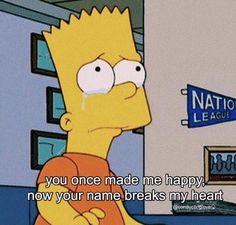 The Simpsons Tumblr, Simpsons Quotes, Cartoon Quotes, Bart Simpson, Mood Wallpaper, Wallpaper Quotes, Trendy Wallpaper, Sad Love Quotes, The Simpsons