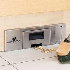 Sweepovac hardwood floor vacuum. Start/stop kick switch