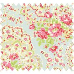 Cath Kidston fabric--visited the store while studying abroad in London--LOVE HER! Floral print, flower, flowers, floral, flora