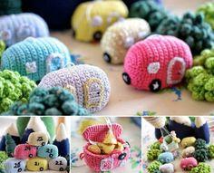 Crochet Vintage Caravan Free Pattern Is Super Cute   The WHOot