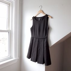 3b08cfa738 @lisaloveslions on Depop Structured black A-line dress from Forever21 Size  Small Love the