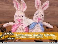 Resultado de imagem para coelho de crochê