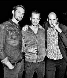 Alexander Skarsgård, Joel Kinnaman & Gustaf Skarsgård, SWEDISH MEN <3