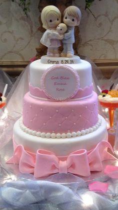 Precious Moments Christening Cake