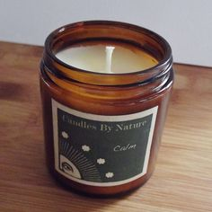 Aromatherapy Candle  Valentines Day Gift for Her / Natural Soy / CALM / Ylang Ylang, Lavender, Rose / Essential Oils Vegan on Etsy, $6.95