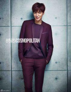 FOTOS: Lee Min Ho en la portada de Cosmopolitan