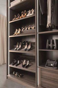 Shoe Cabinet - Got a ton of shoes to stash? Despite its slimline style Source by cabinet Shoe Storage Wardrobe, Wardrobe Design Bedroom, Wardrobe Cabinets, Walk In Wardrobe, Bedroom Wardrobe, Shoe Closet, Walk In Closet Design, Closet Designs, Shoe Cabinet Design
