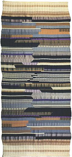 Gunta Stölzl was a German textile artist who played a fundamental role in the development of the Bauhaus school's weaving workshop.