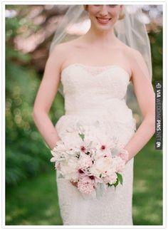 romantic wedding bouquet   CHECK OUT MORE IDEAS AT WEDDINGPINS.NET   #weddings #weddingflowers #weddingbouquets #bouquets
