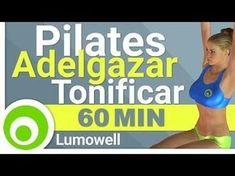 Pilates: Rutina de 60 Minutos para Adelgazar y Tonificar en Casa. - YouTube