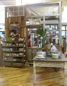 Anthropologie Visual Merchandising Workshop by Sarah Cunningham, via Behance
