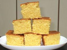 PECADO DA GULA: Bolo de milho delicioso