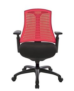 Shop Staples® for At The Office 10 Series Supportiveflex Task Chair With Adjustable Arms & Synchro Tilt Mechanism, Red Back and enjoy everyday low prices, plus FREE shipping on orders over $39.99. http://www.staples.com/ATO-10-Series-Supportiveflex-Task-Chair-With-Adjustable-Arms-Synchro-Tilt/product_395736