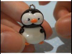 Kawaii Penguin polymer clay Tutorial