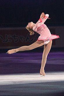 Rachael Flatt  Pink Figure Skating / Ice Skating dress inspiration for Sk8 Gr8 Designs.