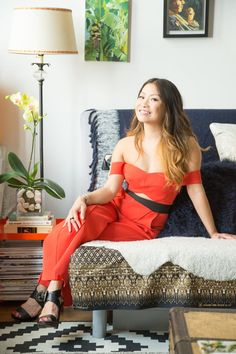 Interior designer Peti Lau's New York apartment is full of unique art collected from her amazing travels around the world.